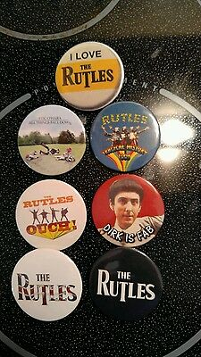 The Rutles: Badge Pinback Button: Beatles Monty Python Bonzo Dog Band
