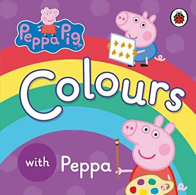 Peppa Pig: Colours by Ladybird Book The Cheap Fast Free Post