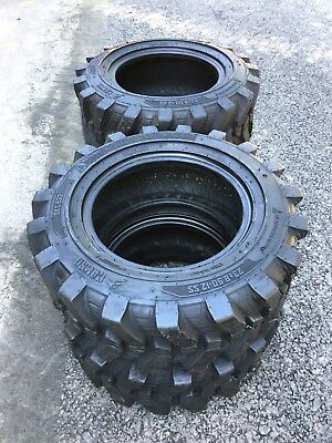 4-23X8.5-12 Skid Steer Tires-8 PLY-23X8.50-12-for Bobcat,Case,New Holland & more