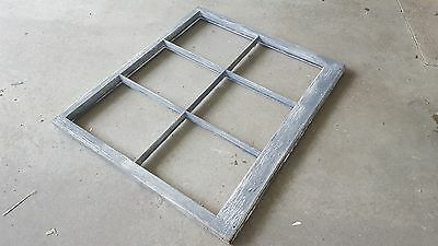 Vintage Sash Antique Wood Window Picture Frame Pinterest Wedding Distressed Gray