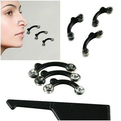 New 3Sizes in 1 Secret Nose Up Lifting Shaping Clip Nose Reshaper Tool Kit Sets