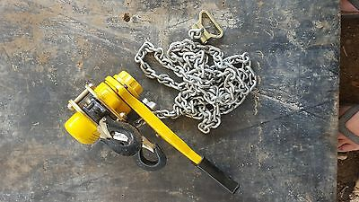 1.5 ton Lever Hoist - Chain Block. Tuffy, Beaver, Boss, Harrington, Nobles