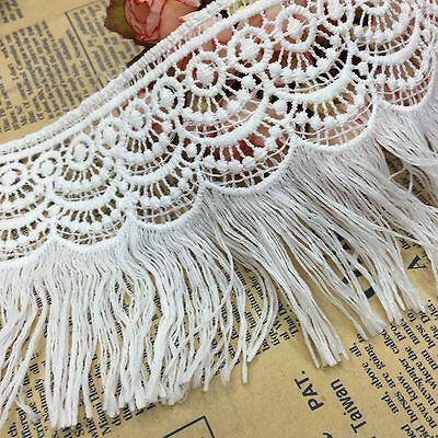 Tassel Lace Trims Crochet Fringe Ribbon Trimmings Fabric Dress DIY Sewing Crafts