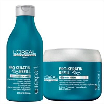 Duo Pro Keratin Refill Shampooing + Masque L'Oréal Professionnel