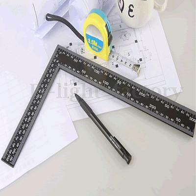 8''x12'' Steel Roofing Square Dual Marking Right Angle Framing Carpenter Ruler