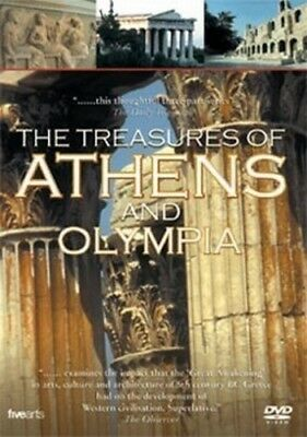 The Treasures of Athens and Olympia DVD (2004) Tim Marlow ***NEW***