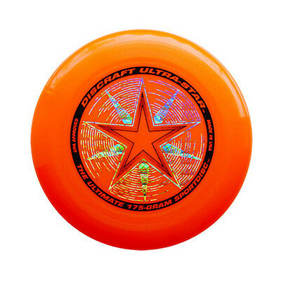 Discraft Ultra Star 175G Ultimate Flying Disc Frisbee - Orange
