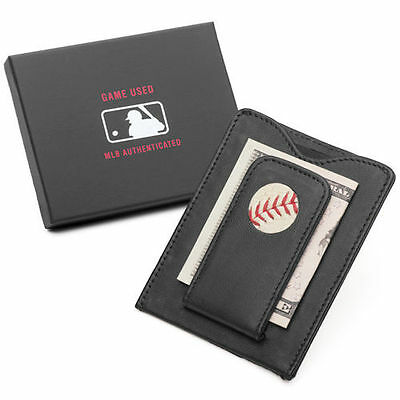 Toronto Blue Jays Tokens & Icons Game-Used Baseball Wallet - MLB