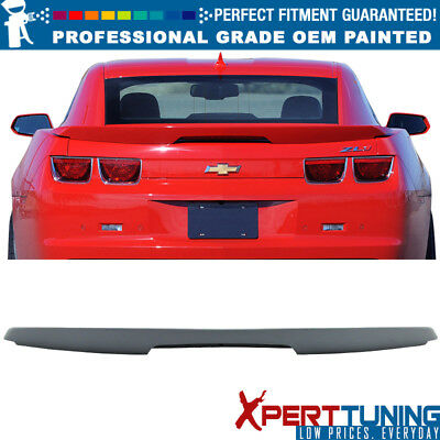 10-13 Chevy Camaro ZL1 Style Painted ABS Trunk Spoiler LED - OEM Painted Color