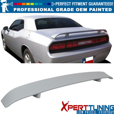 Fits 08-19 Dodge Challenger OE Factory Style Painted Trunk Spoiler Black #PX8
