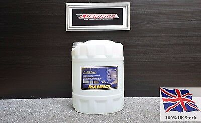 AdBlue 20 litres by Mannol German Ad Blue Car & Commercials 20L