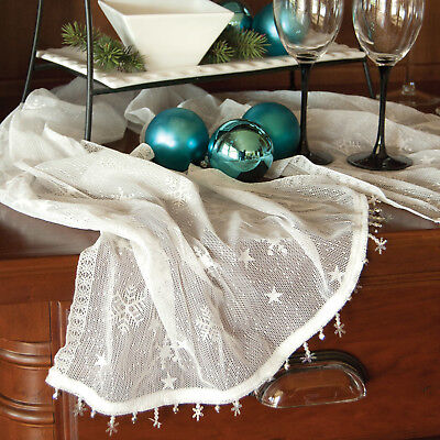 Heritage Lace Windchill Table Runner