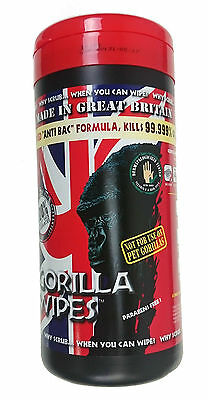 Gorilla Wipes Tub Of 80 - Industrial Cleaning Wet Hand Wipes