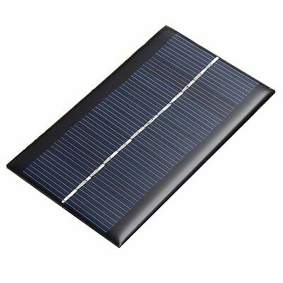 2/6/9V Portable Solar Panel Power Battery Charger Backup for Car Boat Automobile
