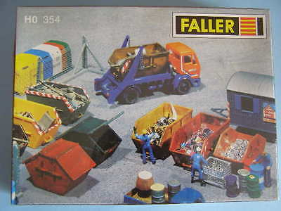 Container - Set. 354. Faller. Ho. H0. 1/87