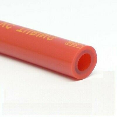 "5 Feet 5/16"" I.D. Beer / Gas Tubing - Red CO2 Nitrogen Draft Gas Line"