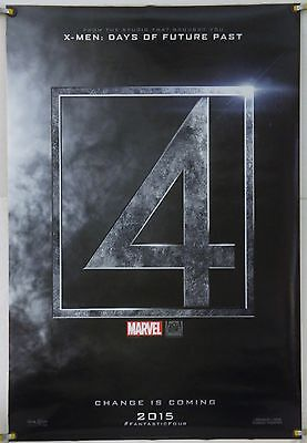 Fantastic Four Ds Rolled Tsr Orig 1Sh Movie Poster Michael B. Jordan (2015)