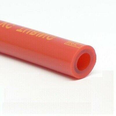 "10 Feet 5/16"" I.D. Beer / Gas Tubing - Red CO2 Nitrogen Draft Gas Line"