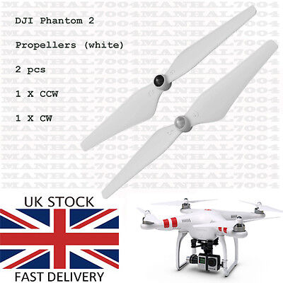 DJI Phantom 2 Propellers Blades (white) - Spare Parts for Quadcopter Drone