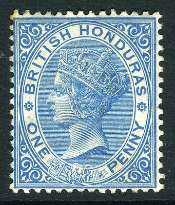 BRITISH HONDURAS-1884 1d Blue Sg 17 MOUNTED MINT V11000