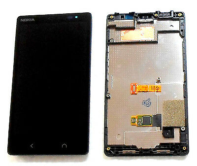 Nokia X2 Rm-1013 X2Ds Dual Sim Complete Lcd Touch Digitizer Display & Frame