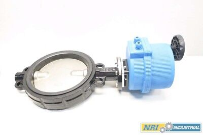 New Valpres 600105 10 In Electric 150 Wafer Butterfly Valve D536754