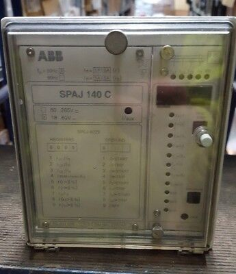 Abb Spaj140C Overcurrent And Earth-Fault Relay (R3S9.2)