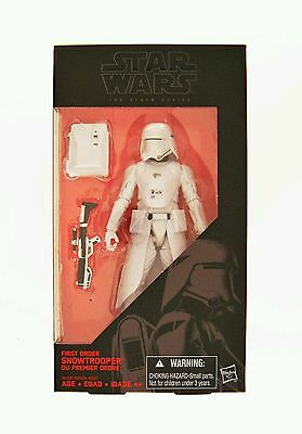 Hasbro Star Wars The Black Series 6-Inch First Order Snowtrooper