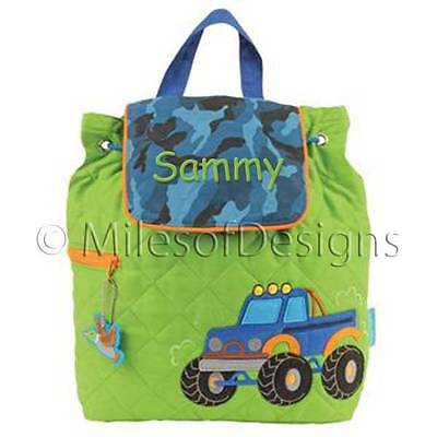 Toddler Backpack Personalized Stephen Joseph Truck Custom Name