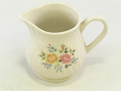 Milk Jug Creamer BHS House & Home Tableware. The Rose Collection. 9cm Tall