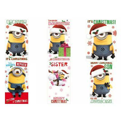 Minions Christmas Card Collection