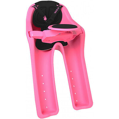 iBert Safe-T-Seat Bicycle Front Child Seat Pink 1-4 Years 38LB Max
