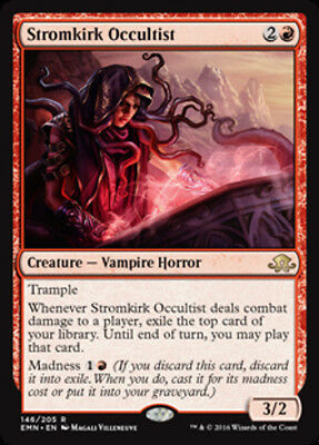 Stromkirk Occultist (FOIL) - MTG Eldritch Moon - NEW