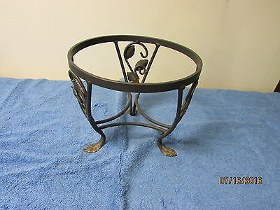 Longaberger's Wrought Iron  Plant Stand ~ At Home Garden - Small