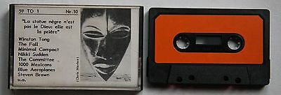 59 To 1 Nr.10 Rare Cassette Compilation 1986 Indie Garage