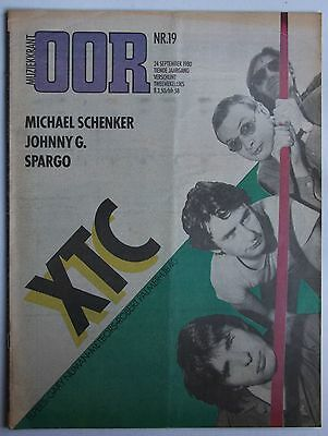 XTC Dutch Oor Mag 1980 Great Title-Pic + Feature