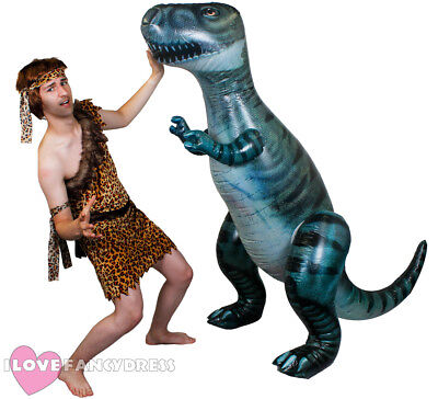 Giant Inflatable Dinosaur 5Ft 7 Pre Historic Fancy Dress Party Blow Up Toy