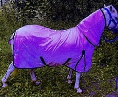 New Horse fly rug combo attached neck Purple various sizes Value for Money