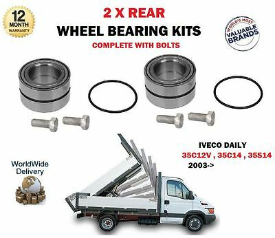 FOR IVECO DAILY III 2006-/> 60C 65C 70C 14 15 16 17 NEW REAR WHEEL BEARING KIT