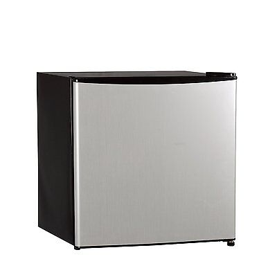 Midea {WHS-65LSS1} Compact Single Refrigerator and Freezer,1.6 Cubic Feet new