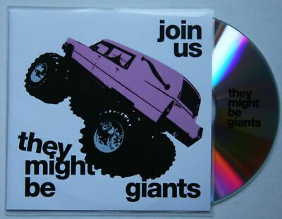 They Might Be Giants Join Us Rare US Advance CD-Acetate