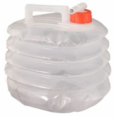 Water Carrier 5L Litre Collapsible Storage Container Camping Travel Folding