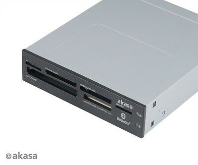Akasa Six Slot Internal Card Reader with Bluetooth AK-ICR-11