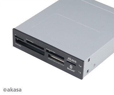 Akasa Six Slot Internal Card Reader with Bluetooth AK-ICR-11