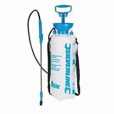 Pressure Sprayer 10L Gardening Water Pesticide Weed Killer Fertiliser Spray U66