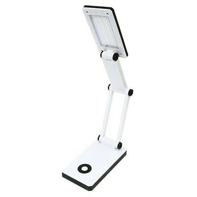 Rolson 30 SMD Compact Folding USB Desk Lamp Light Torch White Gadget 250lm 61545