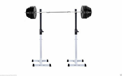 TNP Squat Rack Stand Power Stands Barbell Set Adjustable Press Weight Bench