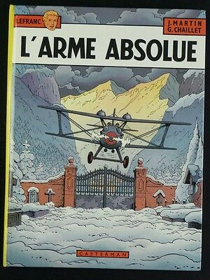 LEFRANC tome 8 L'arme absolue MARTIN EO BE