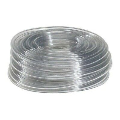 "20 Feet of 1/4"" I.D. Clear Vinyl Tubing, High Quality Food Safe Tubing"