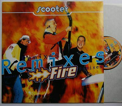 Scooter Fire - Remixes 2-Track 12in Maxi 1997 Klubbheads Remix